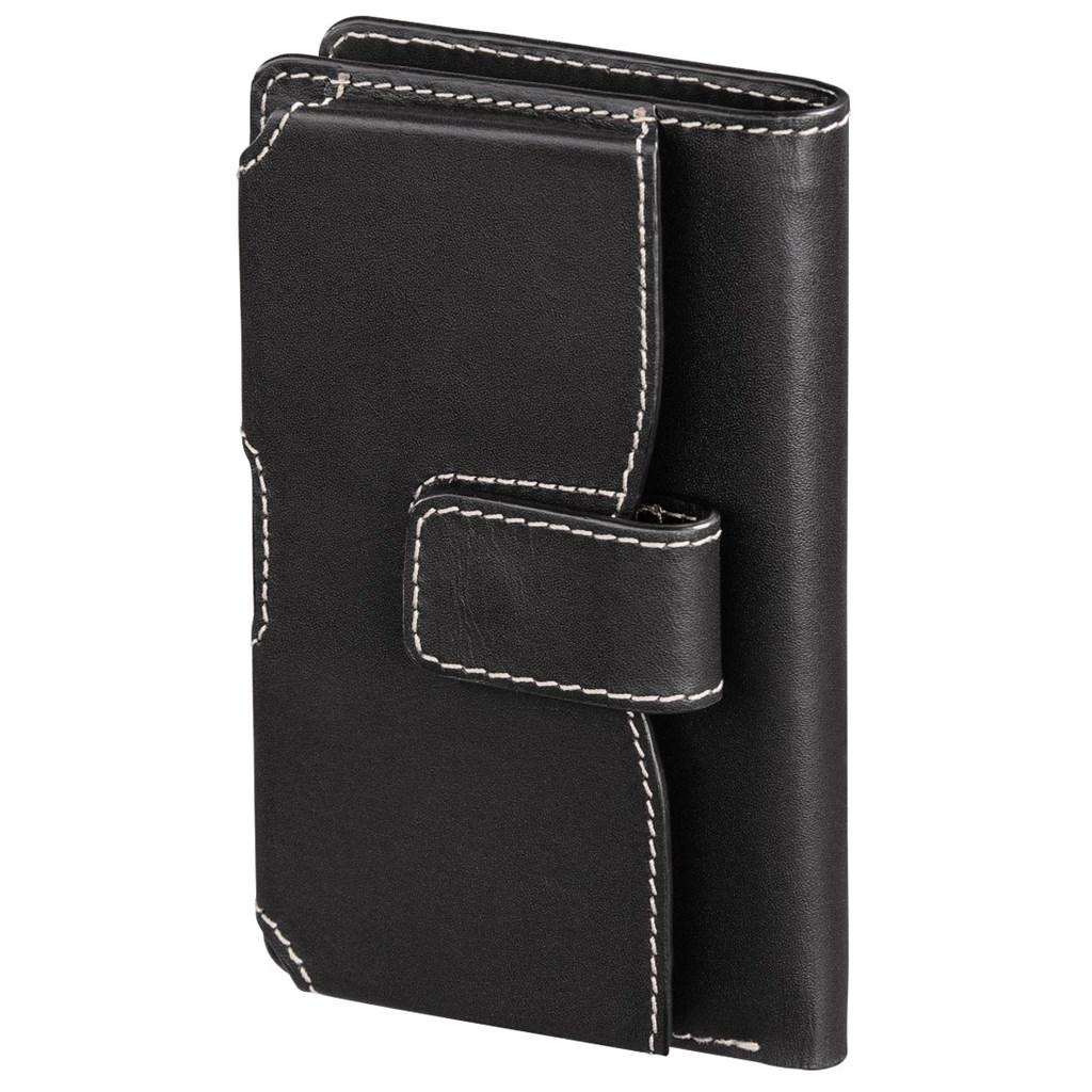 Hama kožené pouzdro na mobil Case, velkost L, černé