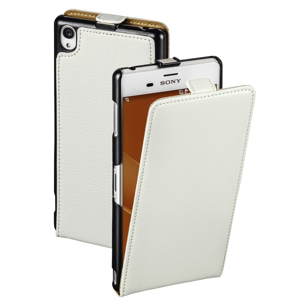 Hama Smart Case Flap Case for Sony Xperia Z3, white