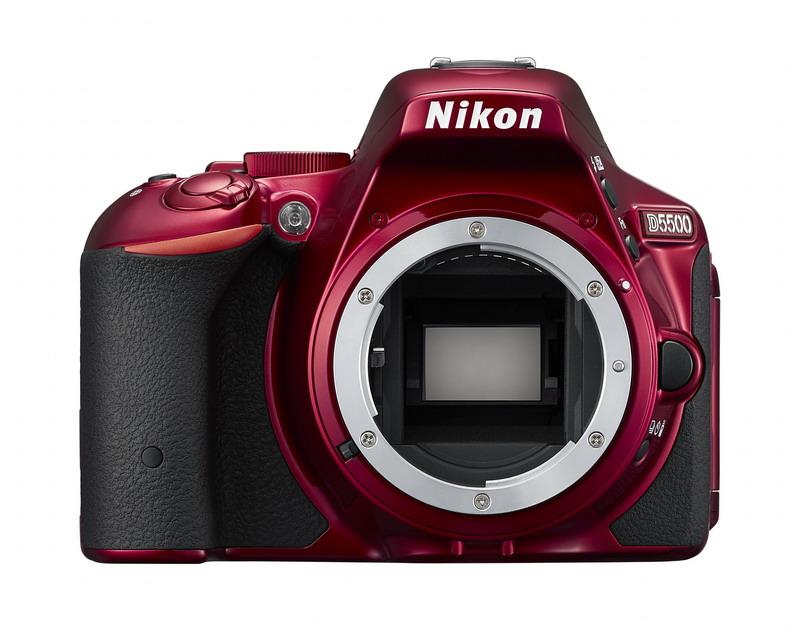 Nikon D5500 24,2MPix červená tělo