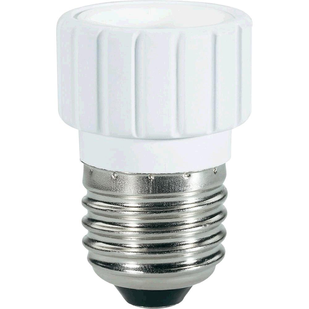 Redukce G21 E27 na GU10 - pro žárovky