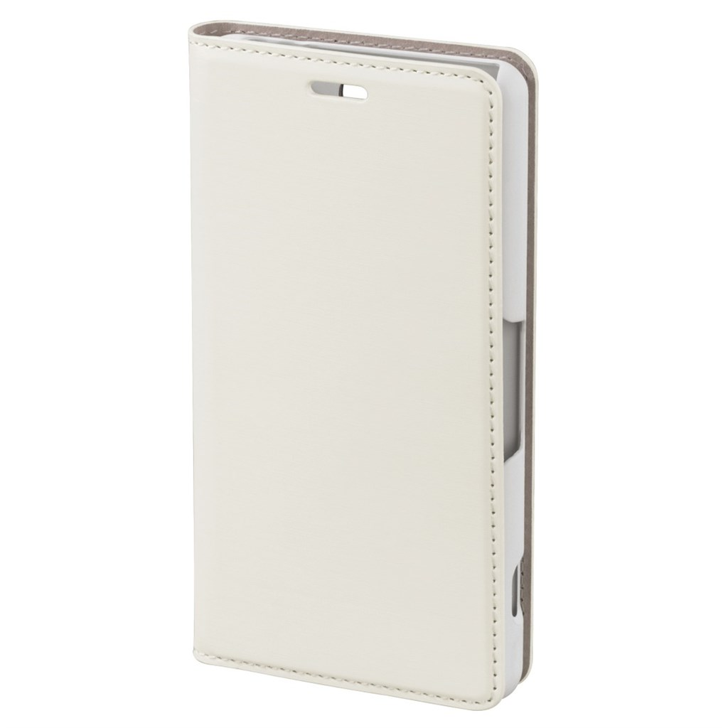Hama slim Booklet Case for Sony Xperia Z3 Compact, white