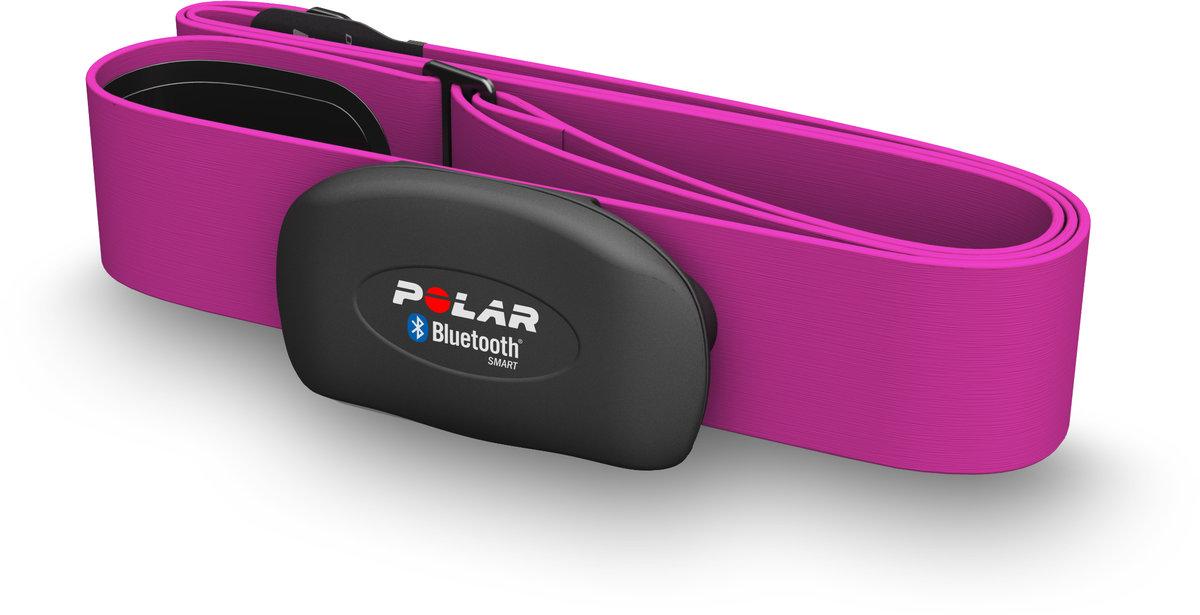 Polar H7 růžový - monitor srdečního tepu, Dual - Bluetooth Smart (v4 LE) + pásmo 5 kHz