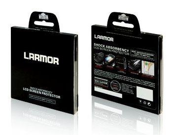 Larmor ochranné sklo 0,3mm na displej pro Nikon D810