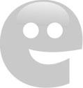 ozdobný papír Malé růže bledě modrá 220g, 20ks