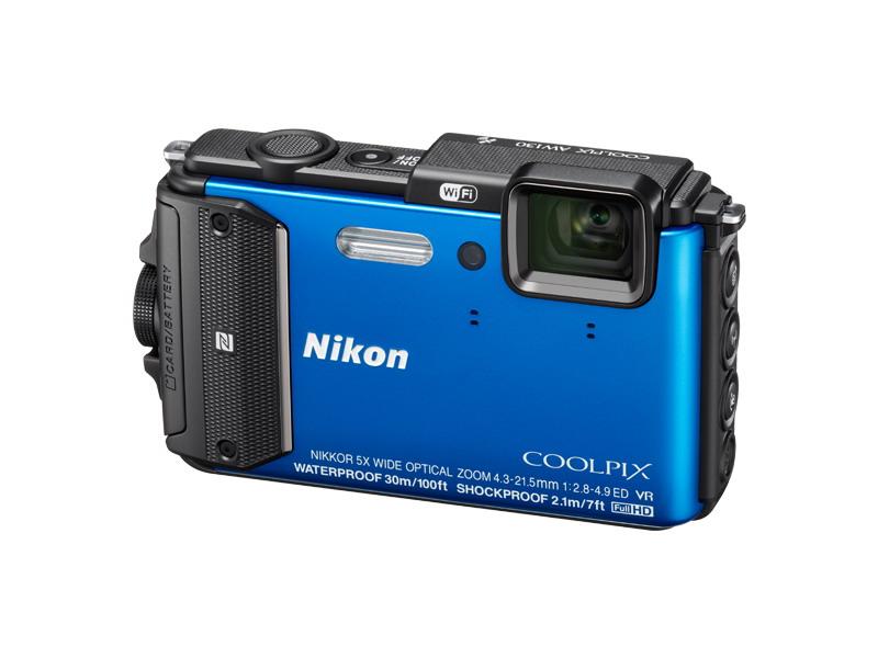 NIKON Coolpix AW130 modrý