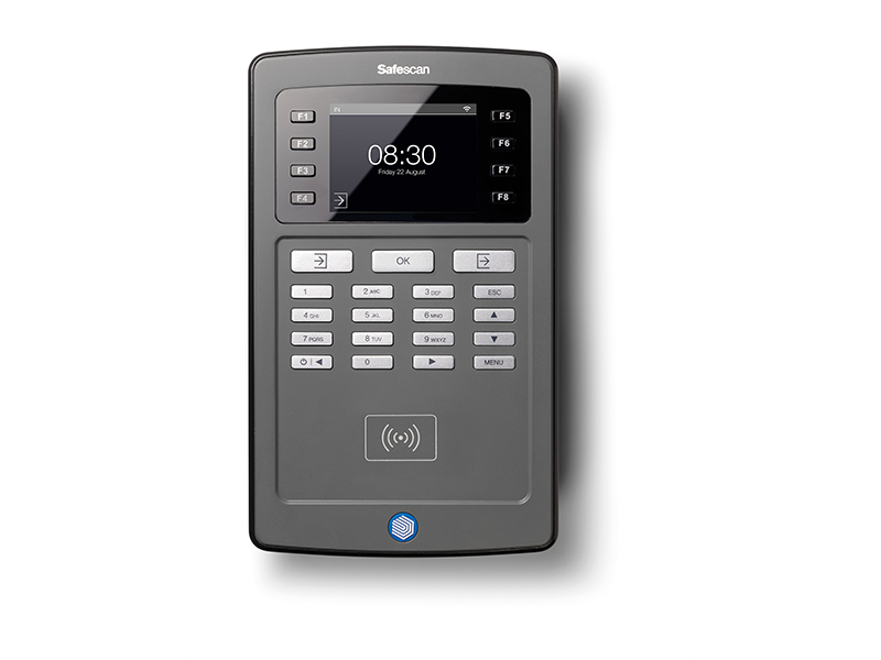 SAFESCAN TA-8015 Wi-Fi Černá