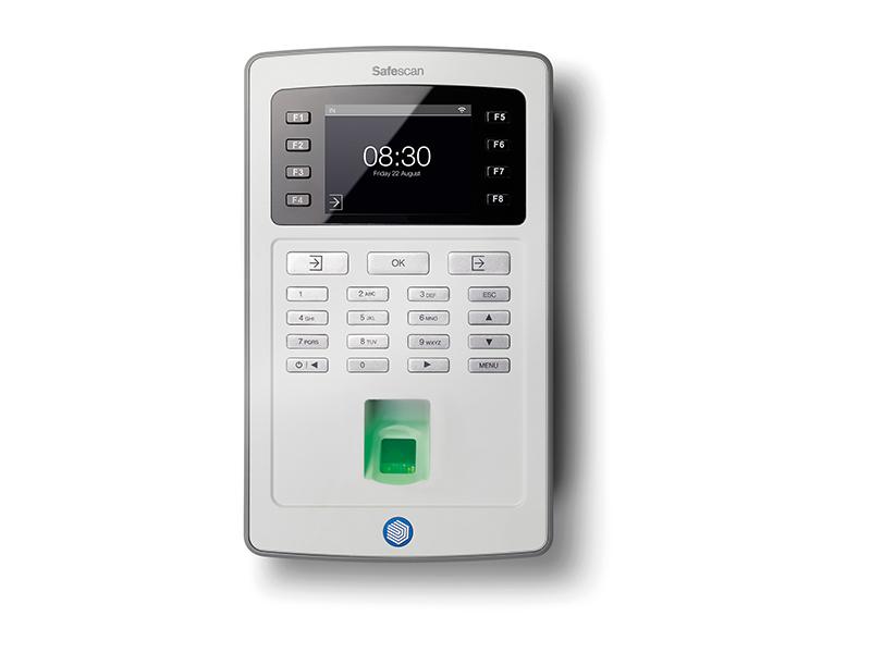 Safescan TA-8035 Wi-Fi Šedá