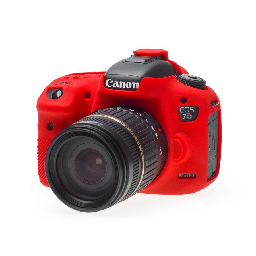 Easy Cover Pouzdro Reflex Silic Canon 7D Mark II Red
