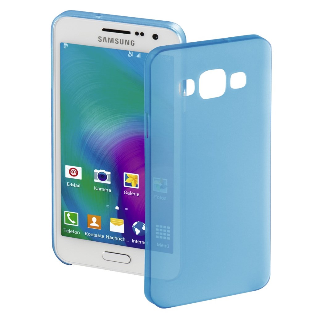 Hama ultra Slim Cover for Samsung Galaxy A3, blue