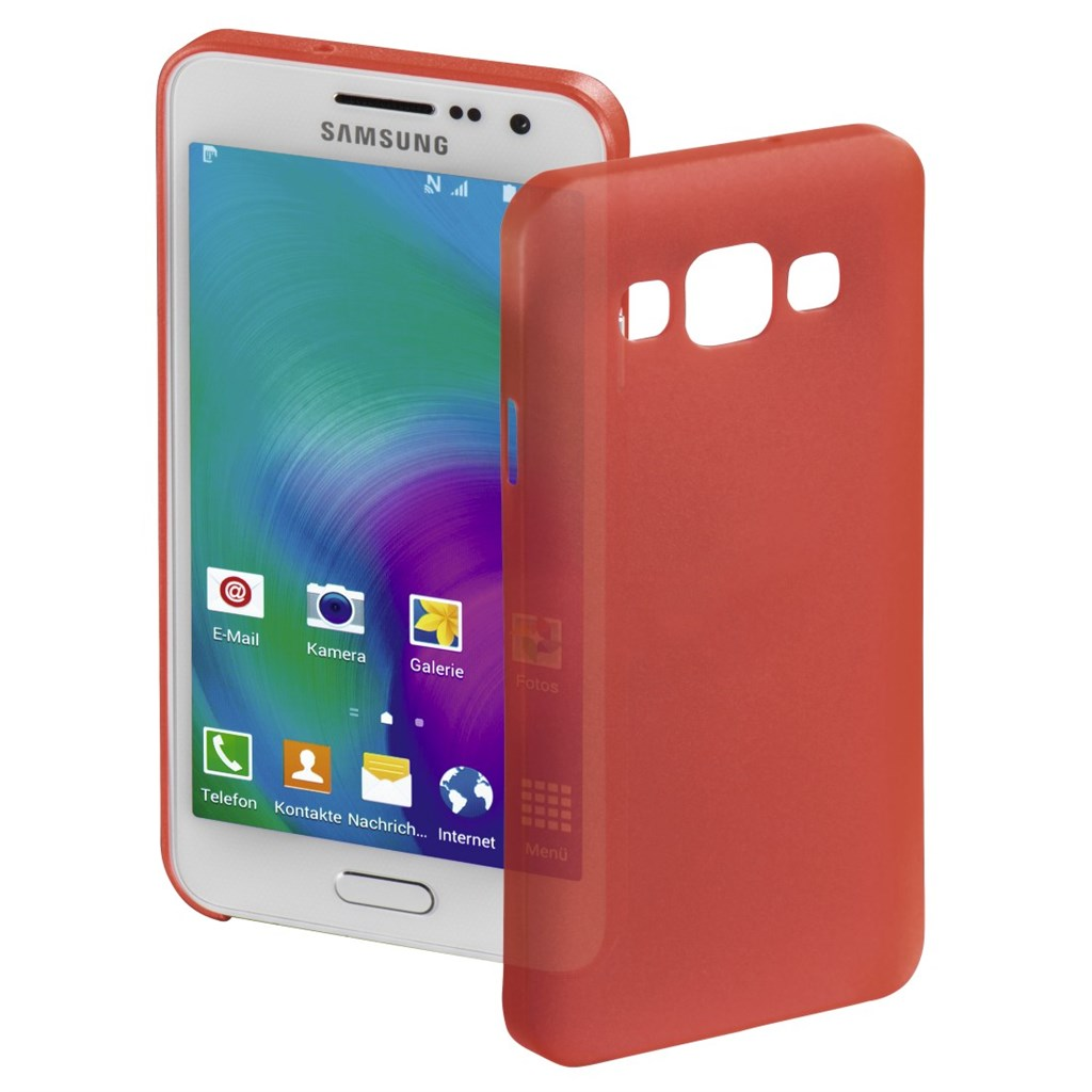 Hama ultra Slim Cover for Samsung Galaxy A3, red