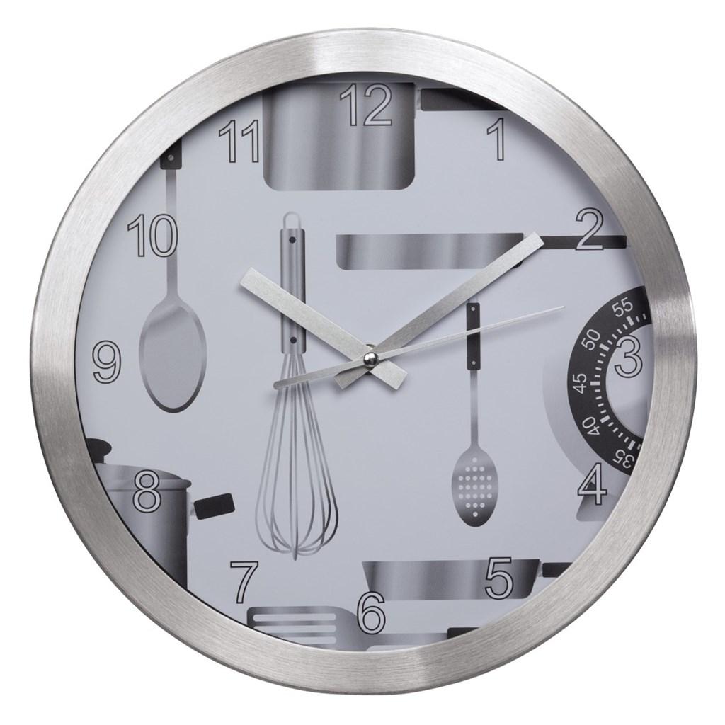 Hama kuchyňské nástěnné hodiny AG-300, tichý chod