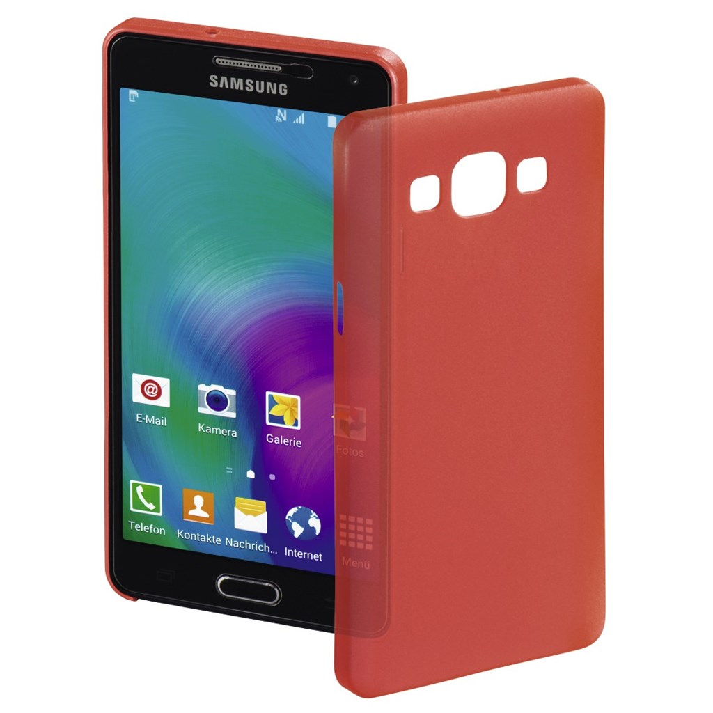 Hama ultra Slim Cover for Samsung Galaxy A5, red