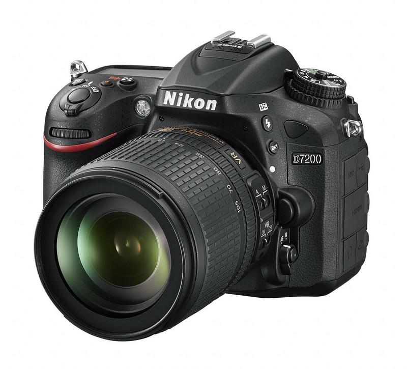 Nikon D7200 24,2MPix, Multi-CAM 3500 II + 18-105 VR AF-S DX