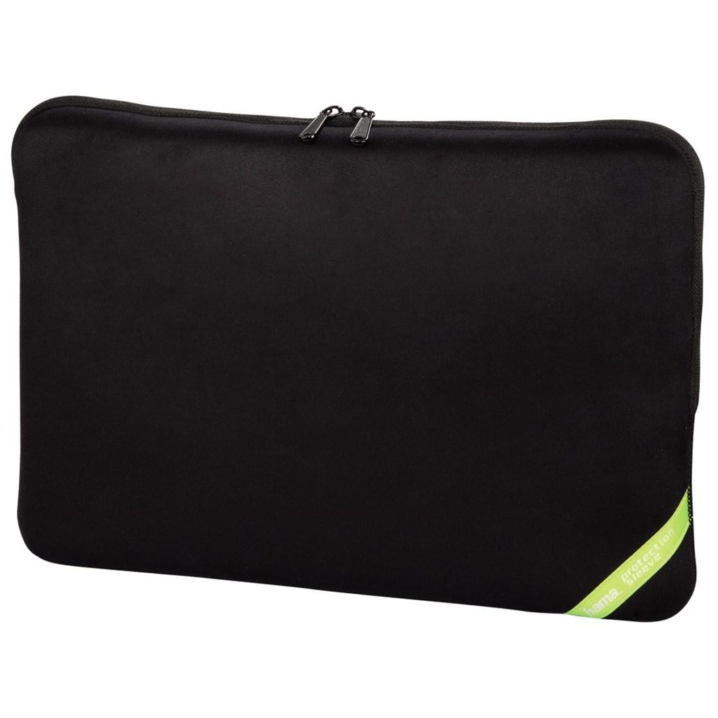"""Hama obal na notebook """"Velour"""", 44 cm (17.3""""), černá"""