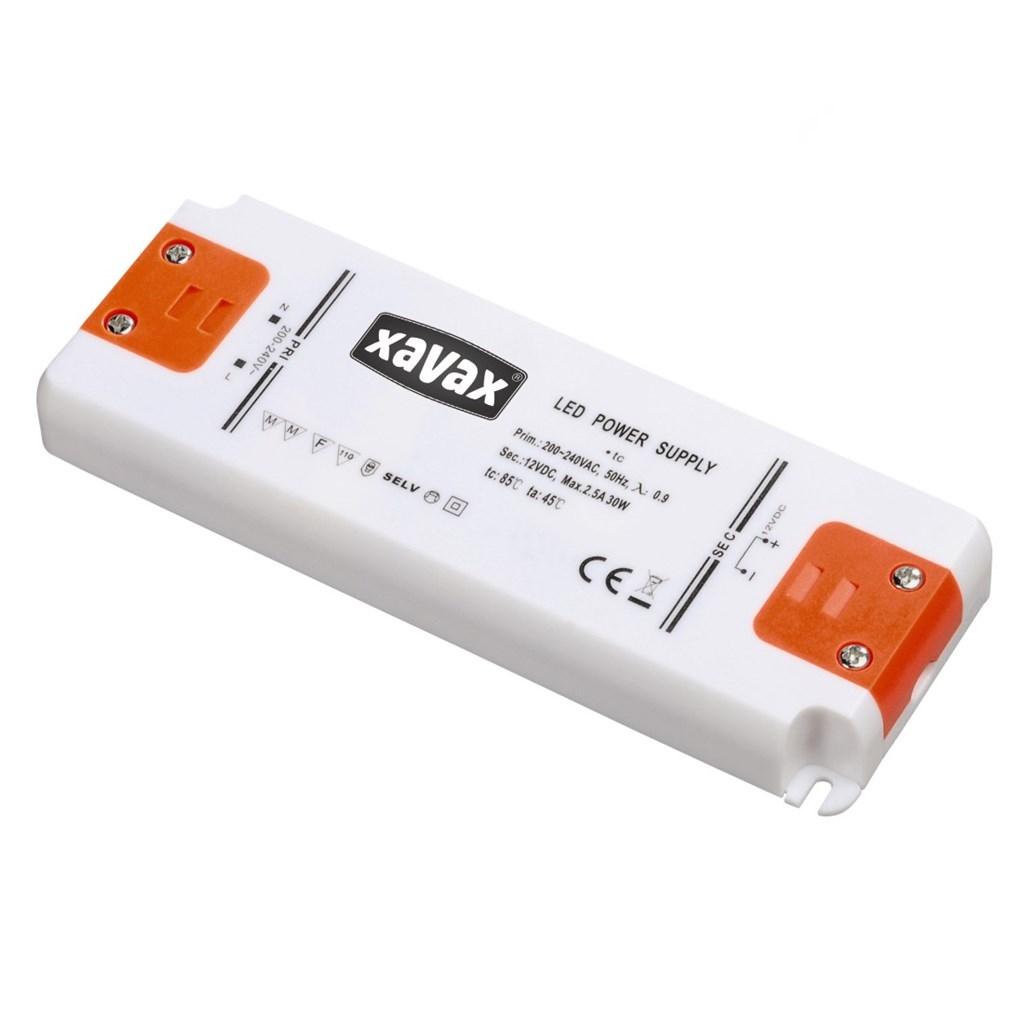 Xavax 30 W LED transformátor pro nízkonapěťové LED žárovky