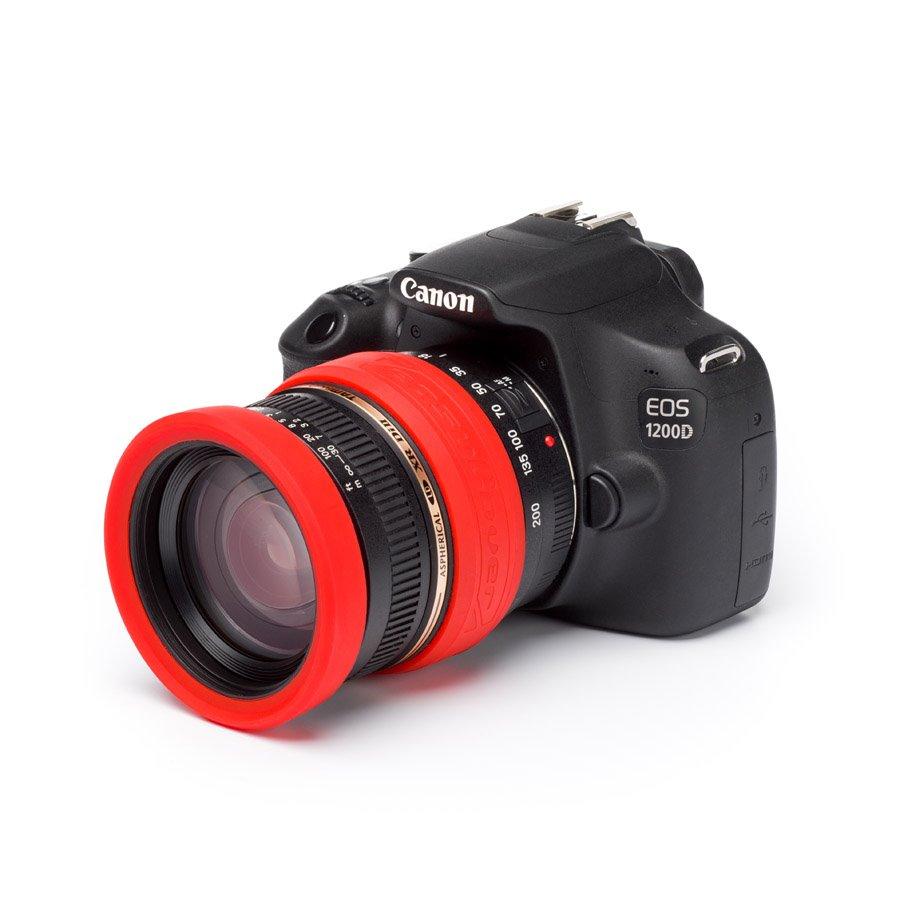 Easy Cover chránič pro objektivy 52 mm Lens Rim Red