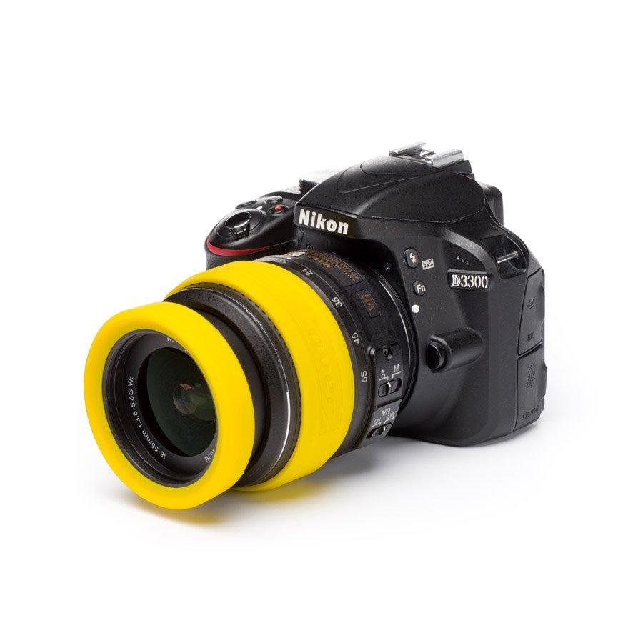 Easy Cover Lens Rim žlutá 62mm
