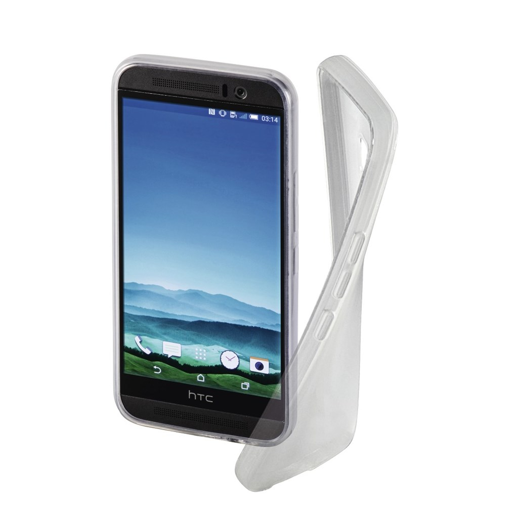 Hama crystal Cover for HTC One (M9), transparent
