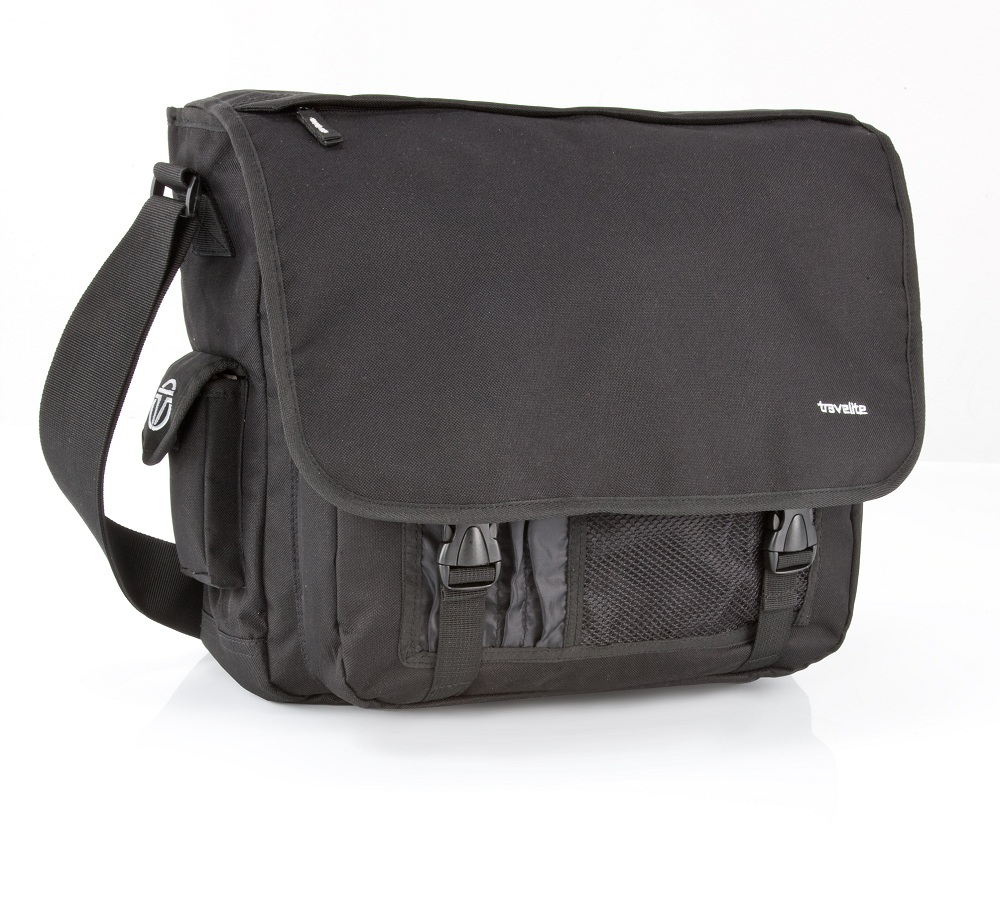 Travelite Basics Messenger Bag Black