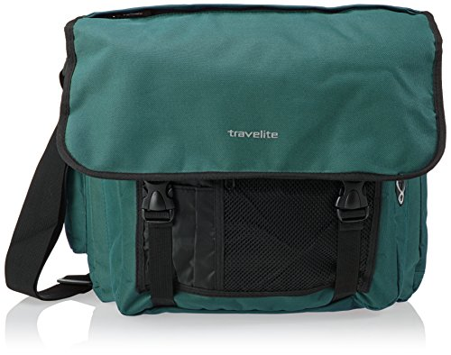 Travelite Basics Messenger Bag Green