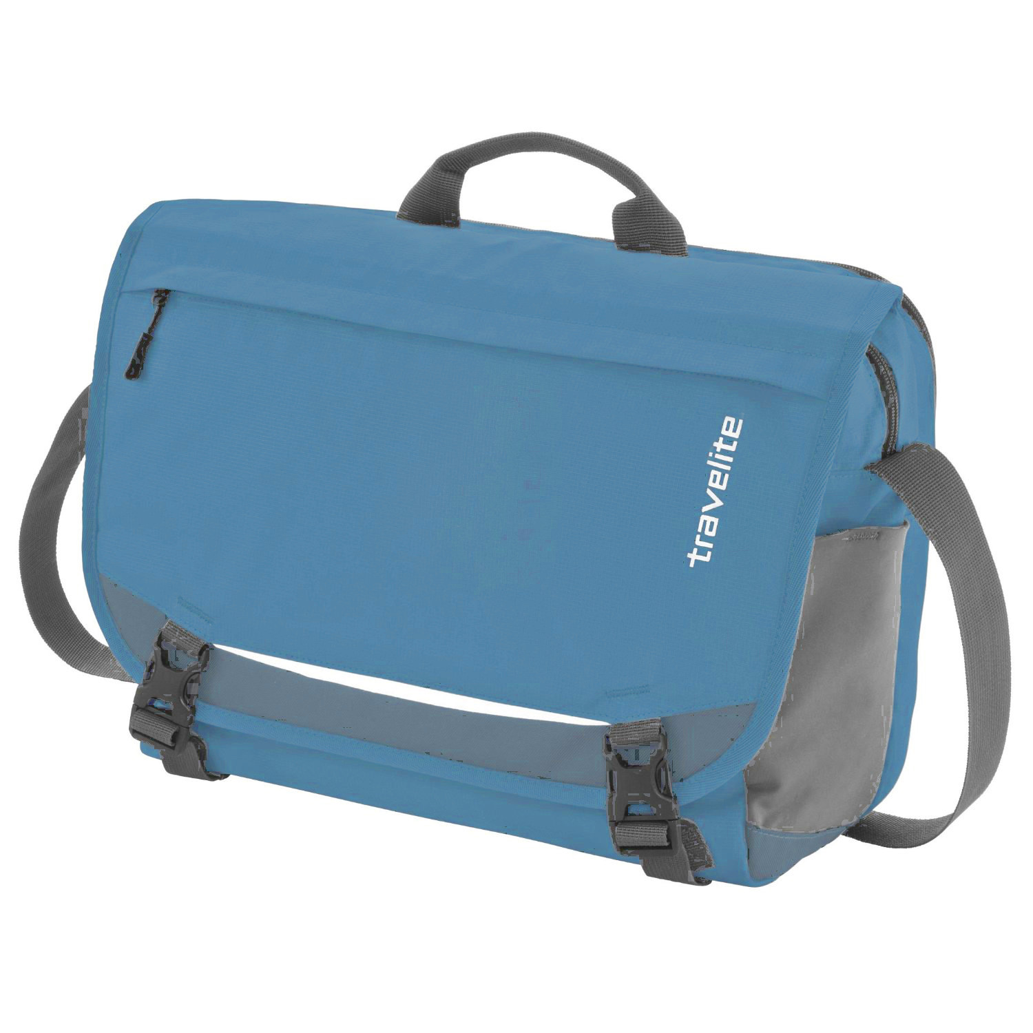 Travelite Basics Messenger Blue