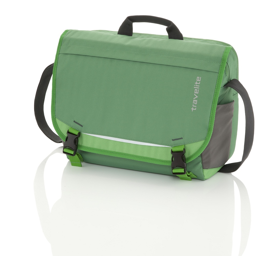 Travelite Basics Messenger Green