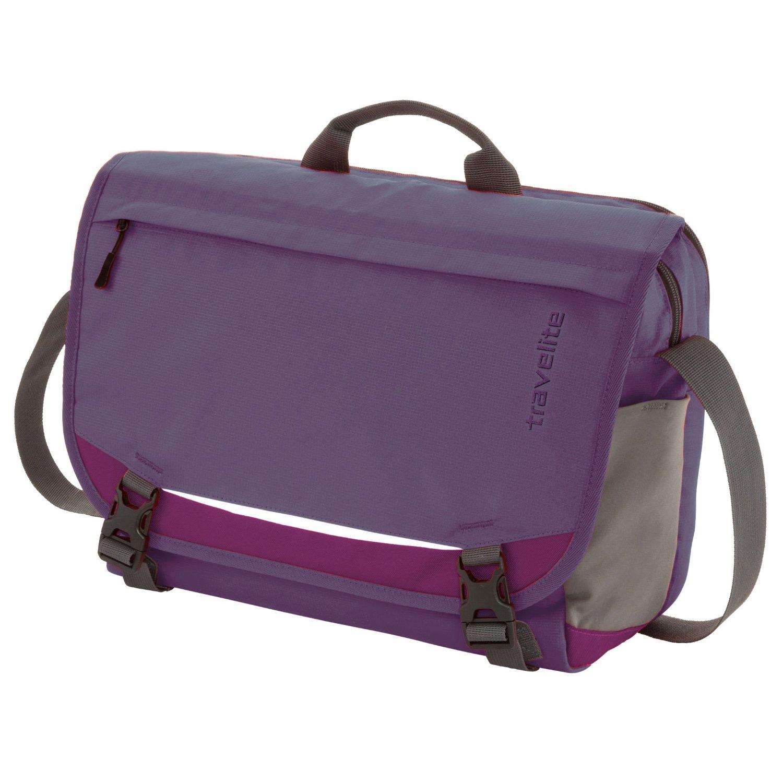 Travelite Basics Messenger Purple