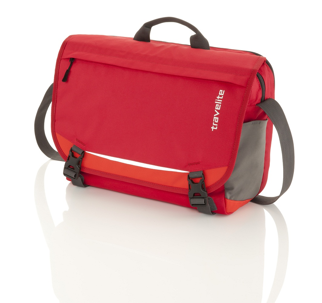 Travelite Basics Messenger Red