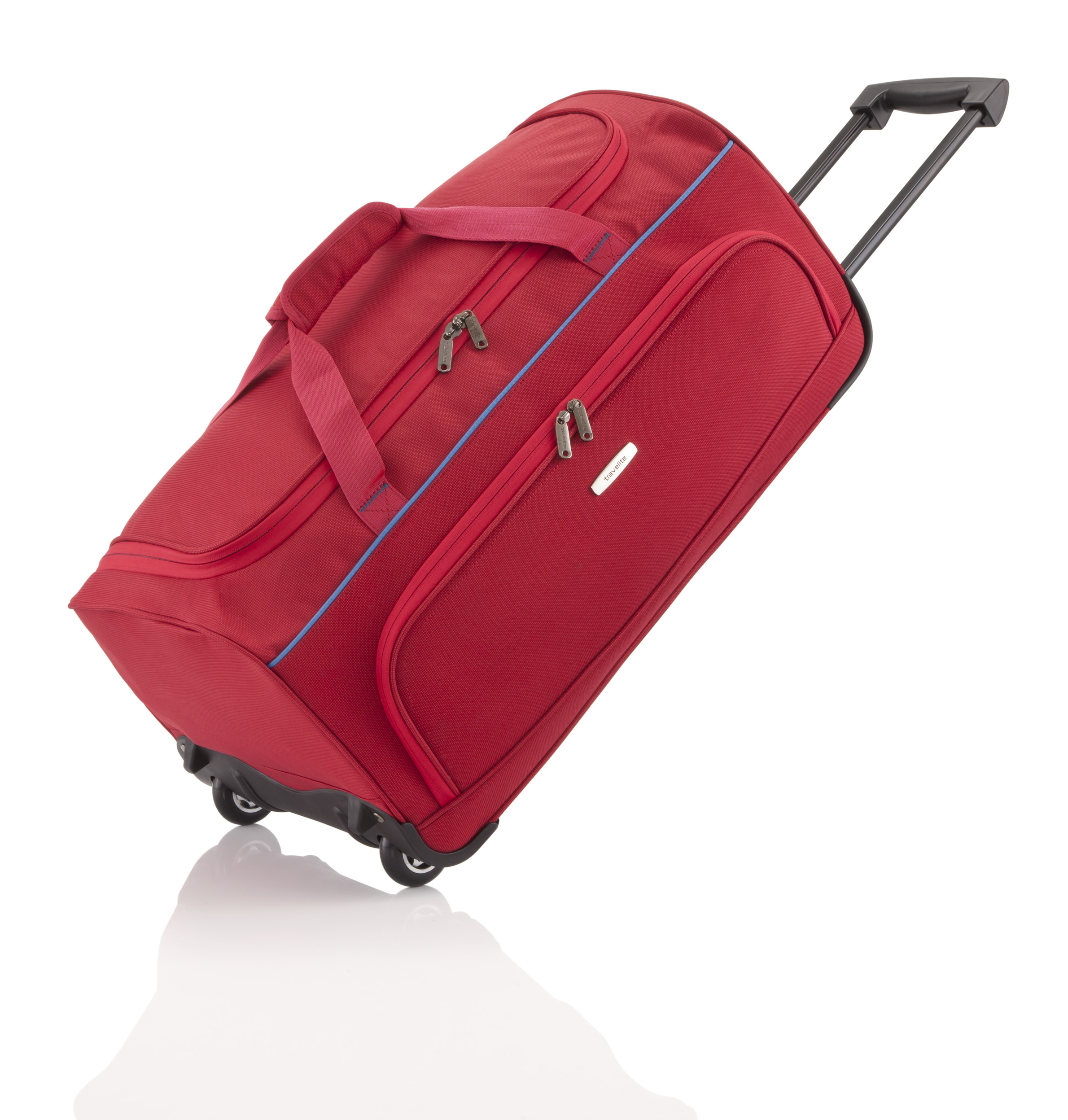 Travelite Derby Wheeled Duffle Red