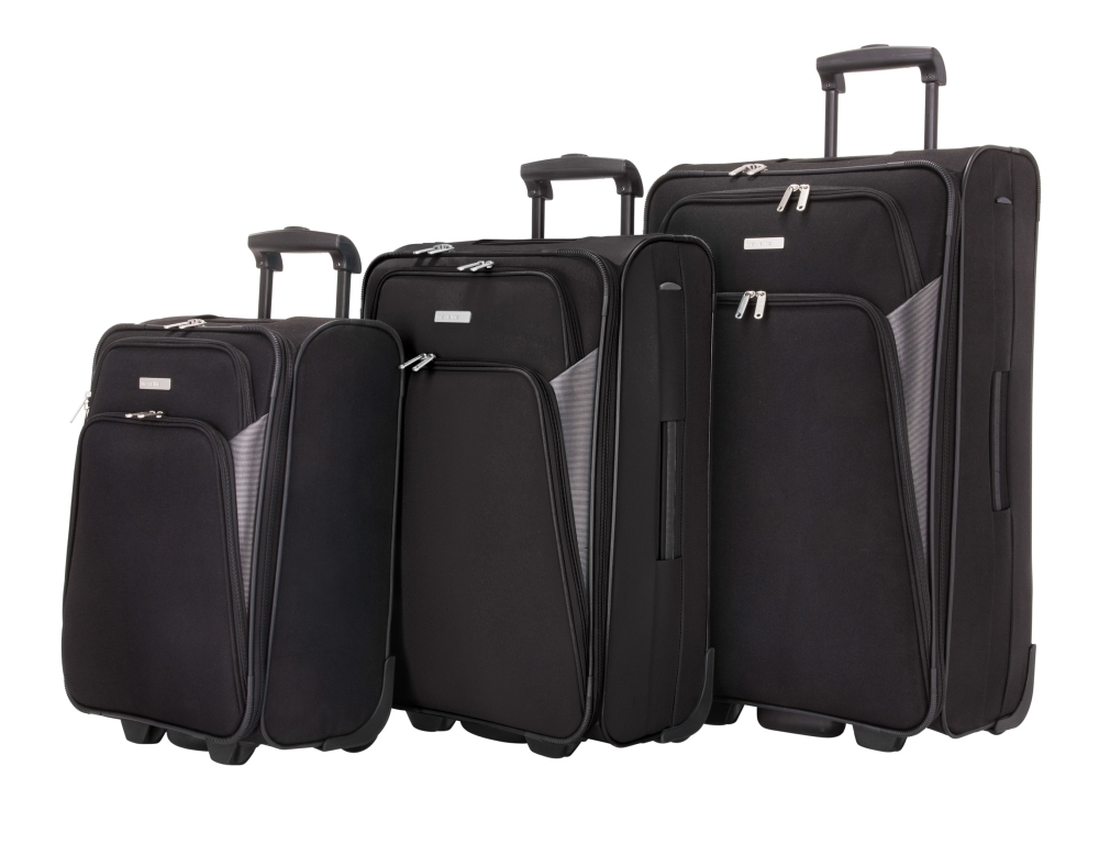 Travelite Orlando XS, S, M, L, XL – sada 5 kufrů Black