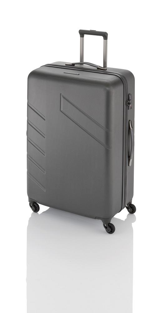 Travelite Tourer 4w L/M, 2w S Anthracite – sada 3 kufrů