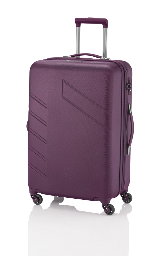 Travelite Tourer 4w L/M, 2w S Berry – sada 3 kufrů