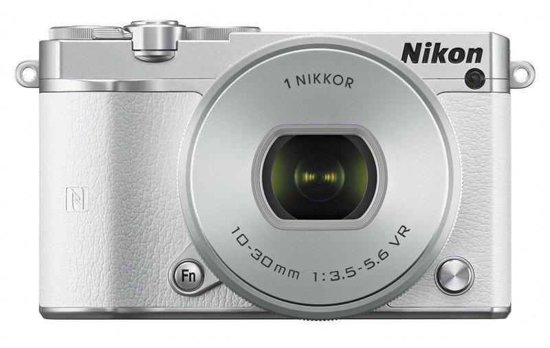 Nikon 1 J5 + 10-30mm bílý