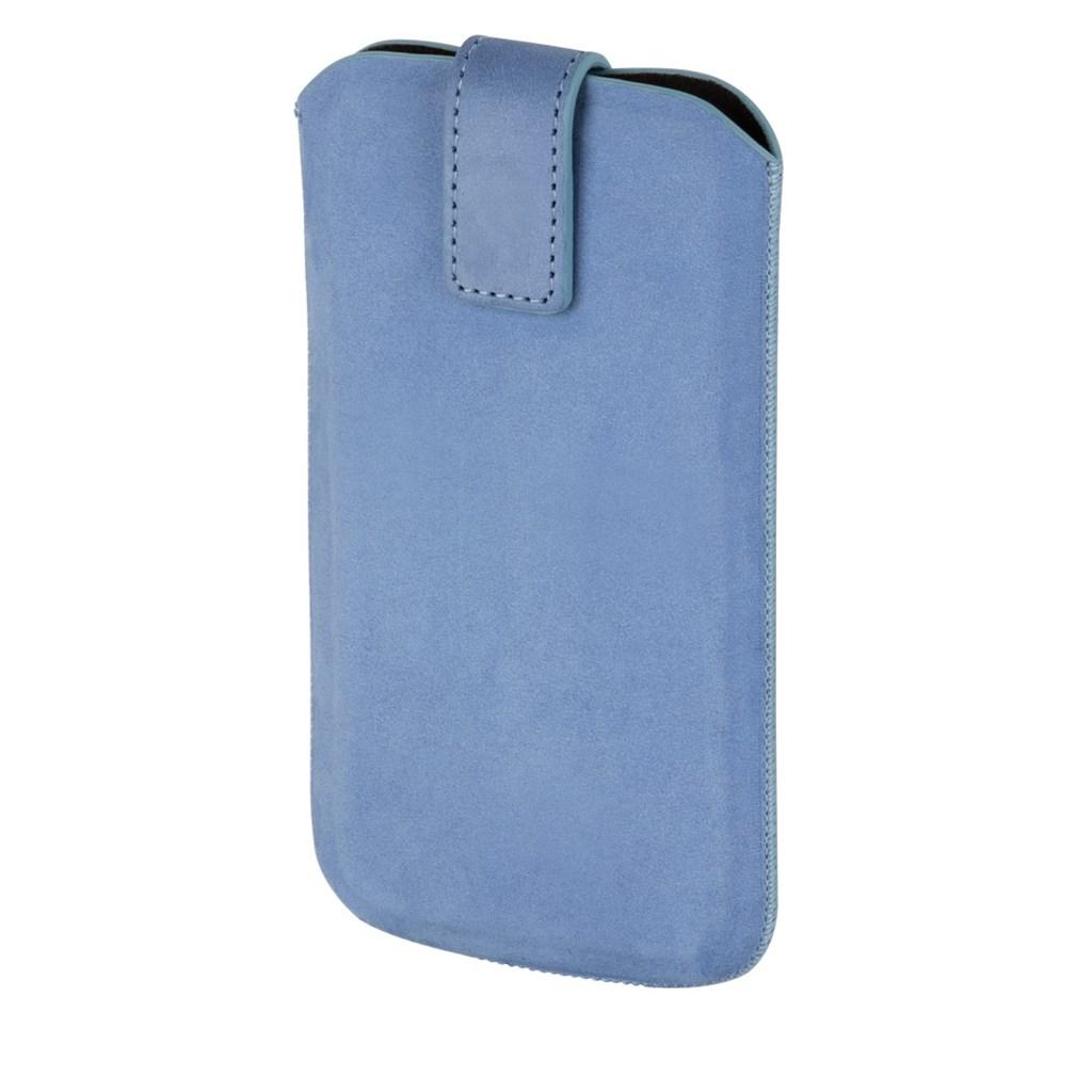 Hama pouzdro na mobilní telefon Chic Case, L, bledě modré