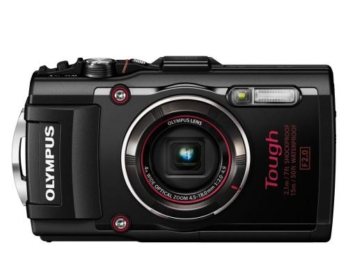Digitální fotoaparát Olympus TG-4 Black