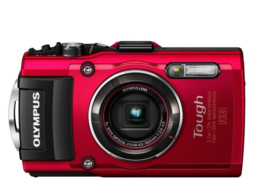 Digitální fotoaparát Olympus TG-4 Red