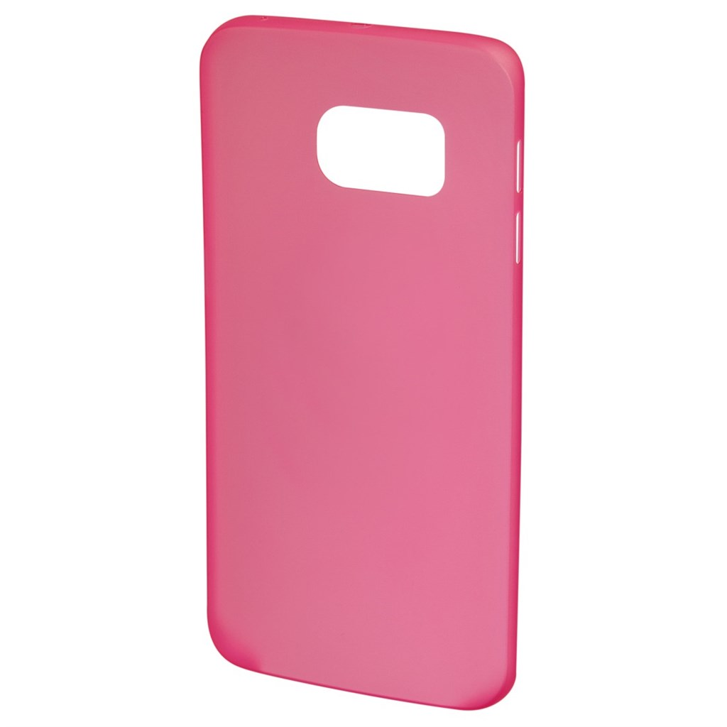 Hama Ultra Slim Cover for Samsung Galaxy S6 Edge, crocus pink