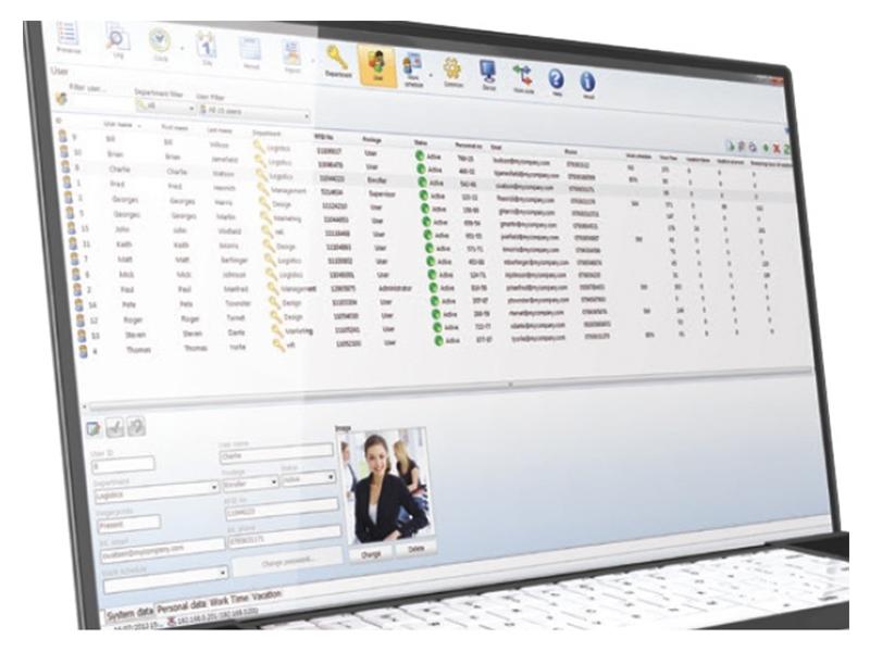 Safescan TA+ on-line