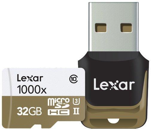 Lexar micro SDHC UHS-II (Class 10) 32GB