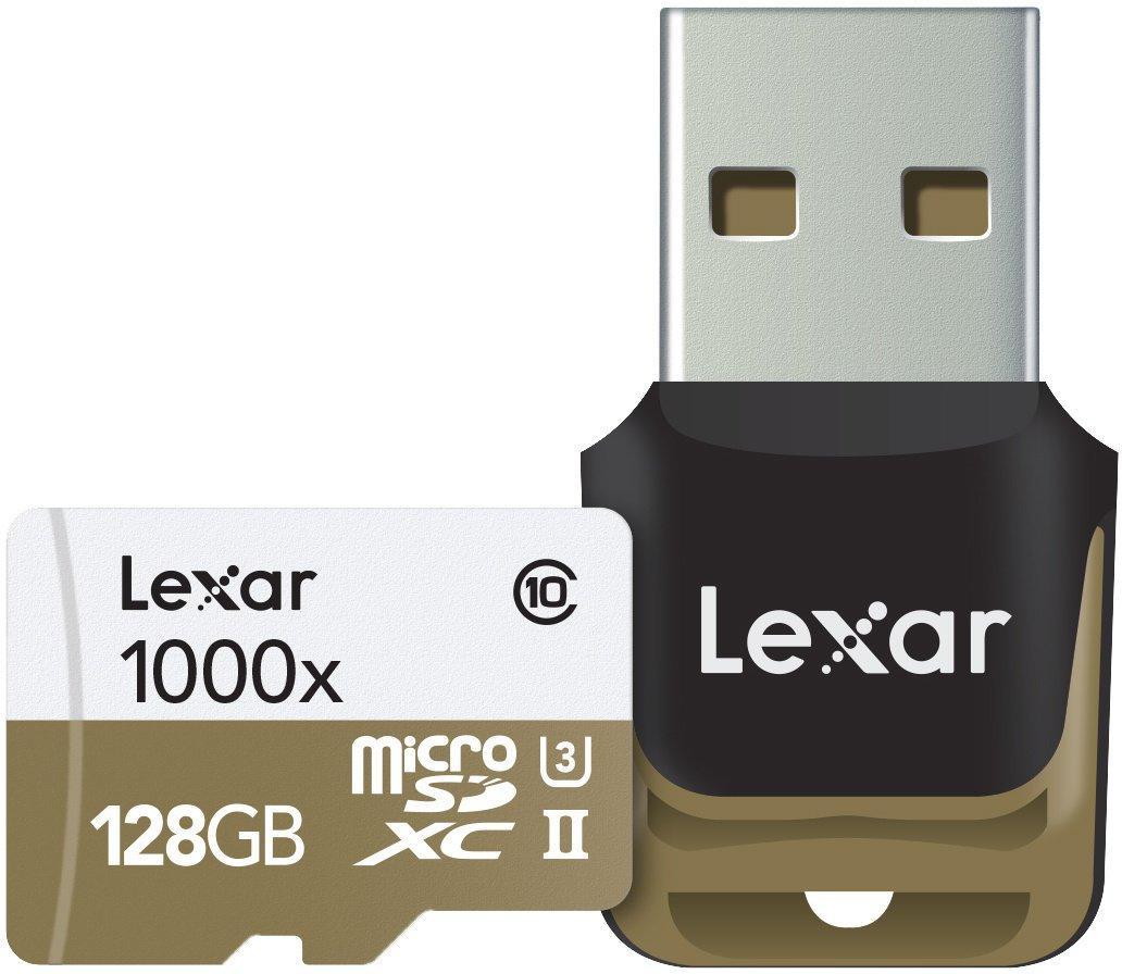 Lexar micro SDXC UHS-II (Class 10) 128 GB