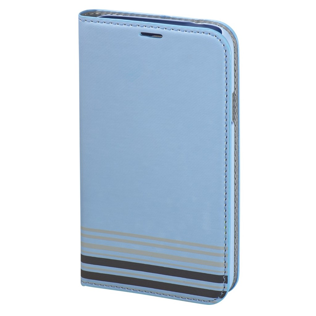 Hama Primrose Booklet Case for Samsung Galaxy S5, light blue