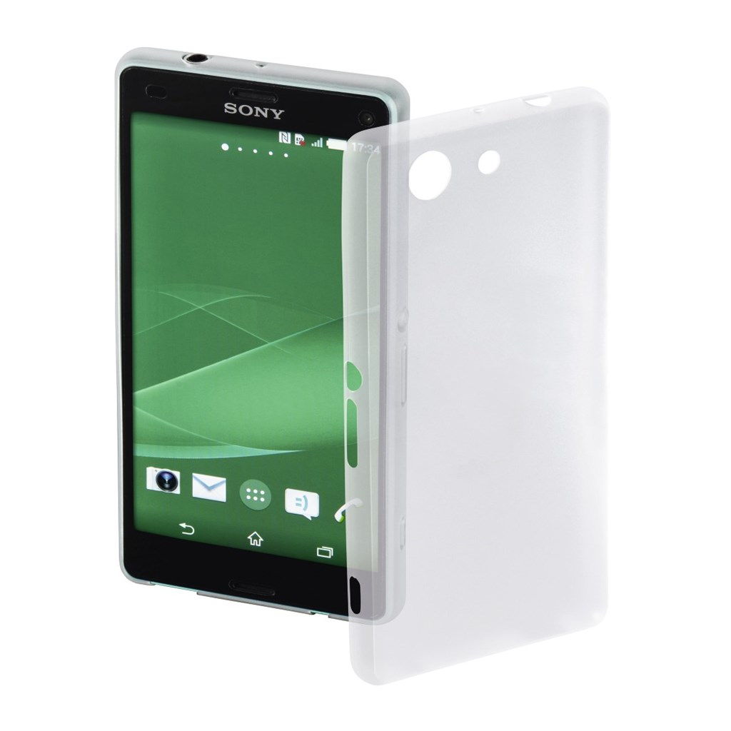 Hama Ultra Slim Cover for Sony Xperia Z3 Compact, white