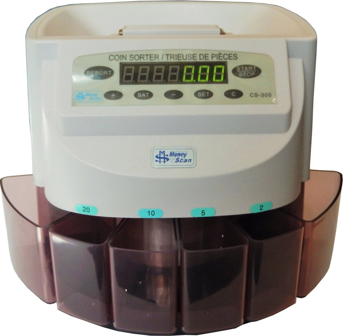 MoneyScan CS-300 EUR