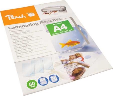 Peach laminovací fólie lesklé A4 80 mic, 25 ks