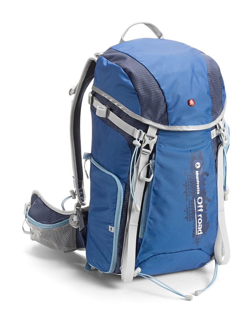 Manfrotto OFF ROAD HIKER 30L BLUE, trekingový foto batoh 30L, modrý