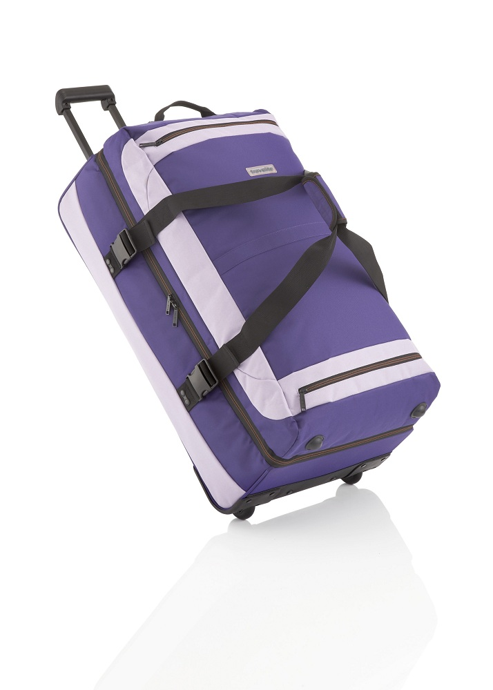Travelite Basics Doubledecker on wheels Deep Purple/Light Purple