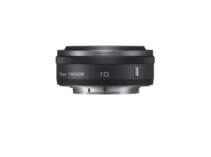 Nikon 1 Nikkor 10mm f/2.8 Pancake Black