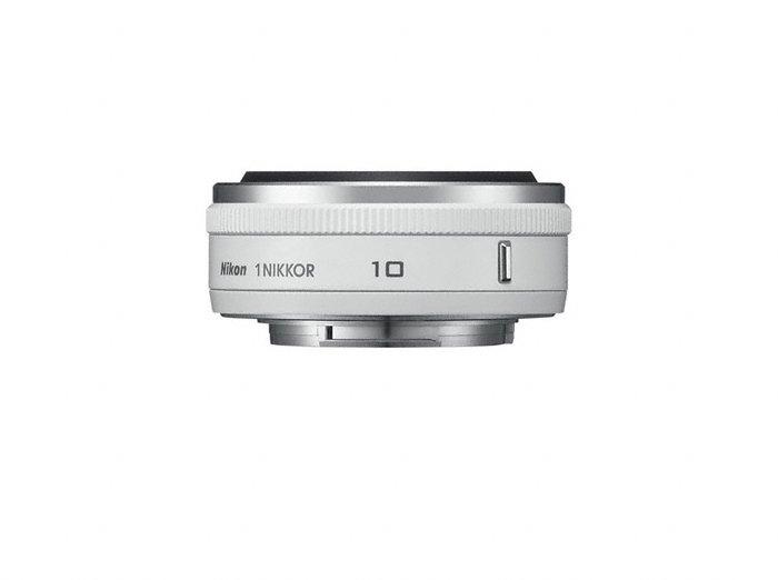Nikon 1 Nikkor 10mm f/2.8 Pancake White