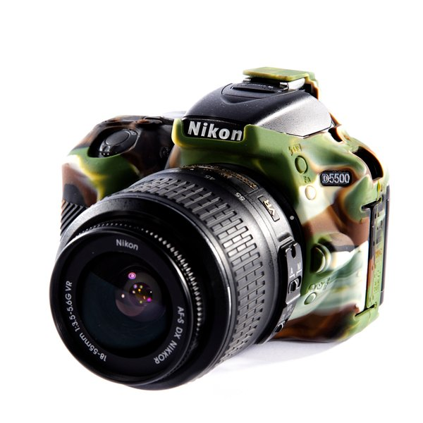 Easy Cover Reflex Silic Nikon D5500 Camouflage