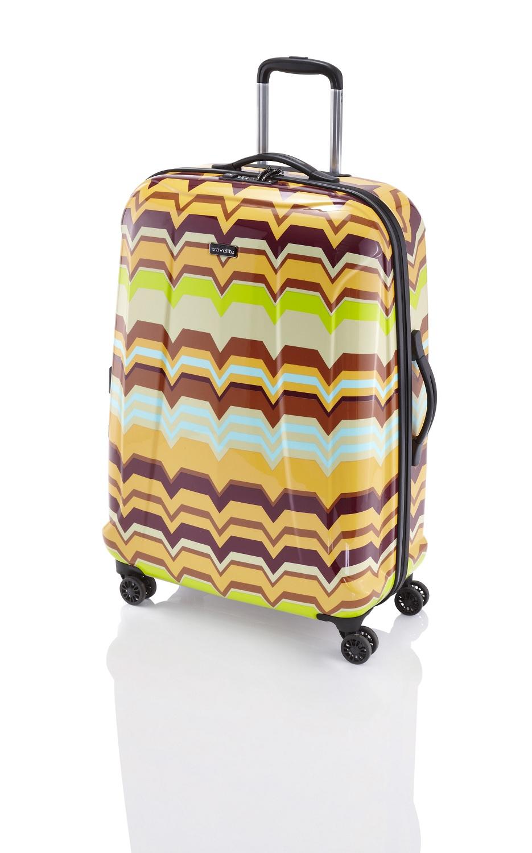 Travelite Graphix 4w M Yellow zigzag